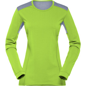 Norrøna Falketind Super Wool Shirt Dame birch green